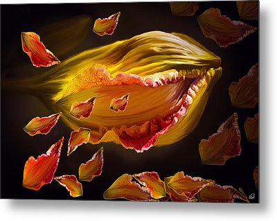 The Contagion Of Laughter Metal Print by Angela A Stanton