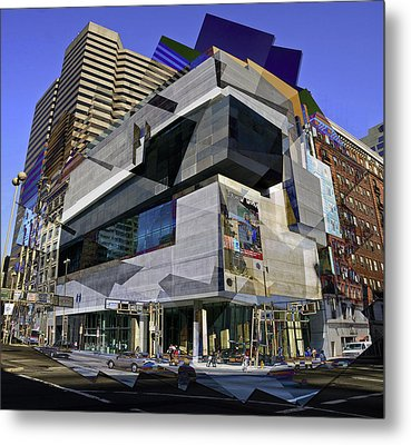 The Contemporary Arts Center Metal Print by Scott Meyer