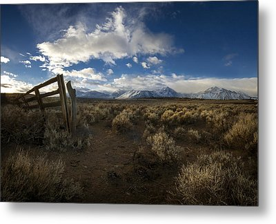 The Corral Metal Print by Sean Foster