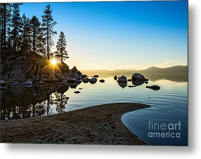 The Cove At Sand Harbor Metal Print by Jamie Pham