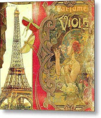 The Crickets Of Paris Metal Print by Aimee Stewart