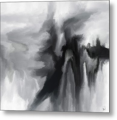The Crowd In The Sky Metal Print by Sir Josef Social Critic - ART