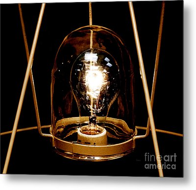 The Crystal Ball  Metal Print by Steven  Digman