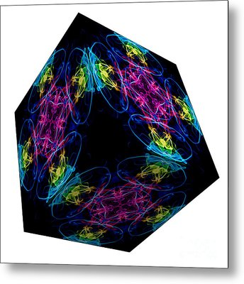 The Cube 13 Metal Print by Steve Purnell