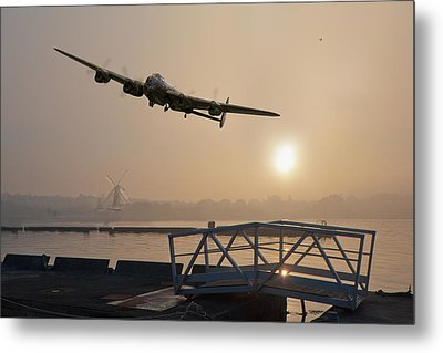 The Dambusters - Last One Home Metal Print by Gary Eason