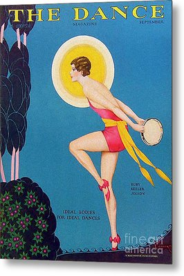 The Dance  1929 1920s Usa Ruby Keeler Metal Print by The Advertising Archives