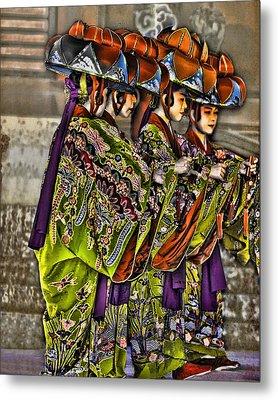 The Dance Metal Print by Karen Walzer