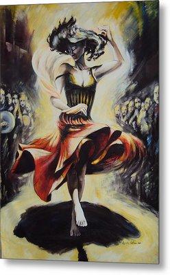 The Dance Of The Tarantula.. Metal Print by Alessandra Andrisani
