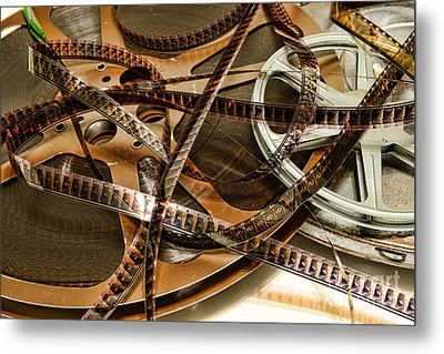 The Days Of Film Metal Print by Paul Ward