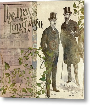 The Days Of Long Ago Metal Print by Aimee Stewart