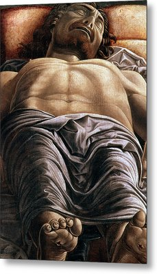 The Dead Christ Metal Print by Andrea Mantegna