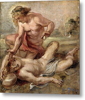 The Death Of Hyacinth Metal Print by Peter Paul Rubens