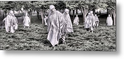 The Defensive Line Metal Print by JC Findley