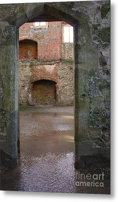 The Derelict Titchfield Abbey Hampshire Metal Print by Terri Waters