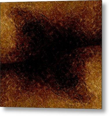 The Descent Metal Print by James Barnes