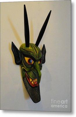 The Devil Made Me Do It Metal Print by Al Bourassa