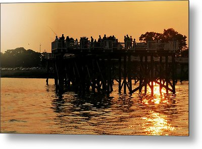 The Dock Metal Print by Diana Angstadt
