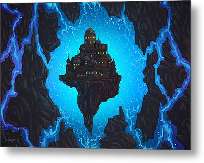 The Dream Fissure Metal Print by Cassiopeia Art