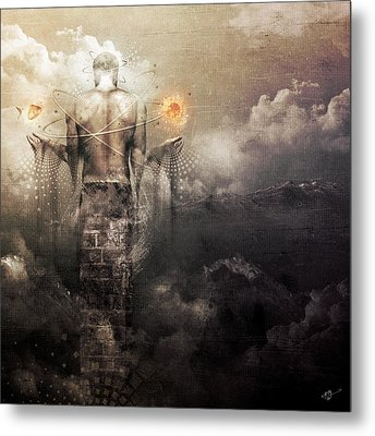 The Drum Metal Print by Cameron Gray
