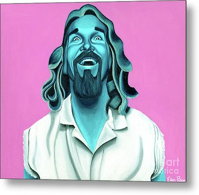 The Dude Metal Print by Ellen Patton