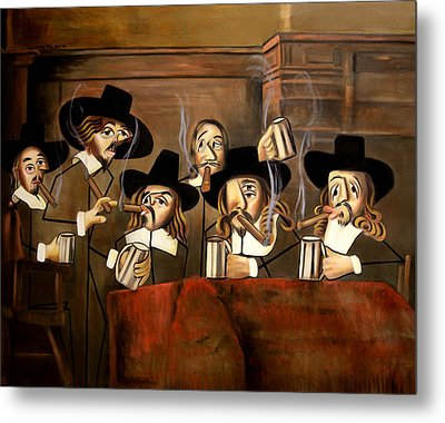 The Dutch Masters Metal Print by Anthony Falbo