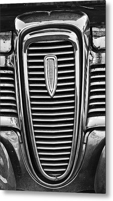 The Edsel Grill Metal Print by Paul Mashburn