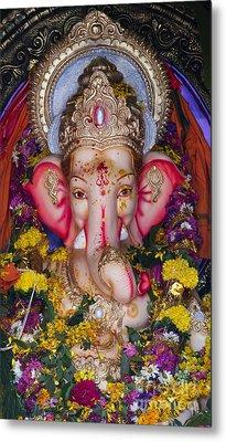 The Elephant God Metal Print by Tim Gainey
