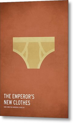 The Emperor's New Clothes Metal Print by Christian Jackson