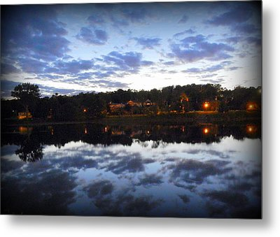 The End Of The Day Metal Print by Karen Cook