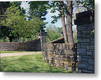 The Entrance Metal Print by Roger Potts