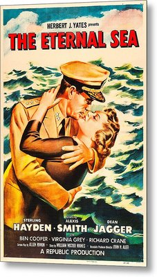 The Eternal Sea, Us Poster, From Left Metal Print by Everett