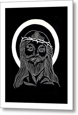 The Eucharist Metal Print by Peter Melonas