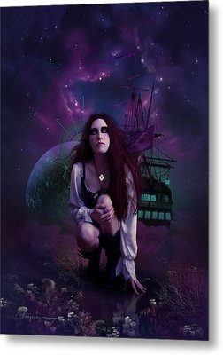 The Explorer Metal Print by Cassiopeia Art
