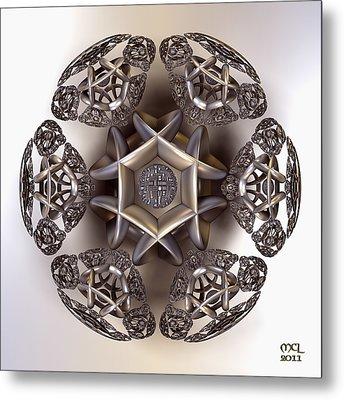 The Eye Of Harmony Metal Print by Manny Lorenzo