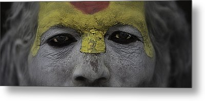 The Eyes Of A Holyman Metal Print by David Longstreath
