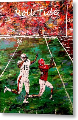 The Final Yard Roll Tide  Metal Print by Mark Moore