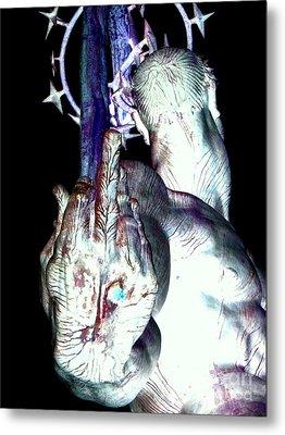 The Finger Metal Print by Ed Weidman