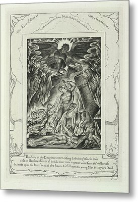 The Fire Of God Metal Print by British Library