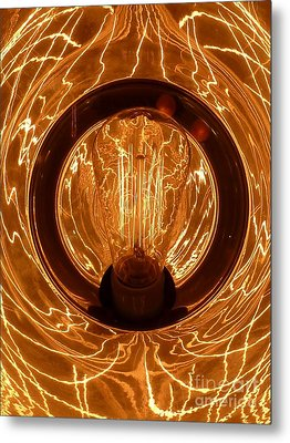 The Fire Within Metal Print by Newel Hunter