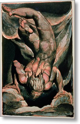 The First Book Of Urizen Metal Print by William Blake