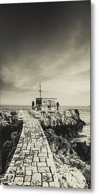 The Fishermen's Hut Metal Print by Marco Oliveira