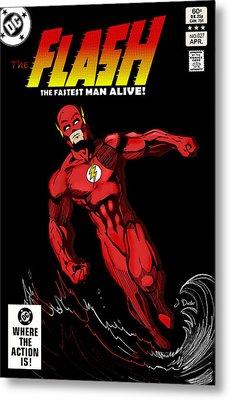 The Flash Metal Print by Mark Rogan