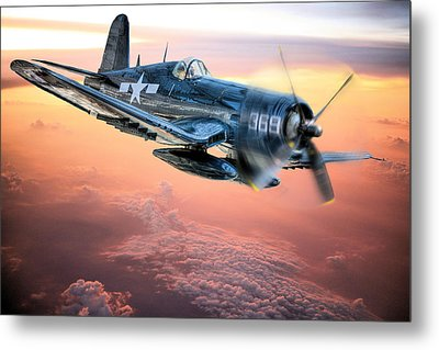 The Flight Home Metal Print by JC Findley