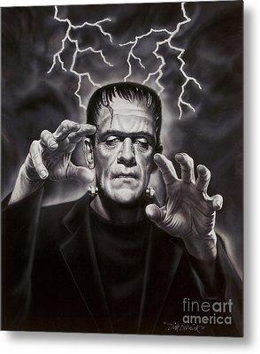 The Frankenstein Monster Metal Print by Dick Bobnick