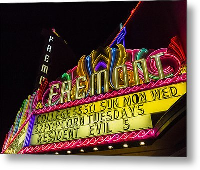The Fremont Metal Print by Caitlyn  Grasso
