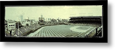 The Friendly Confines Metal Print by Jame Hayes