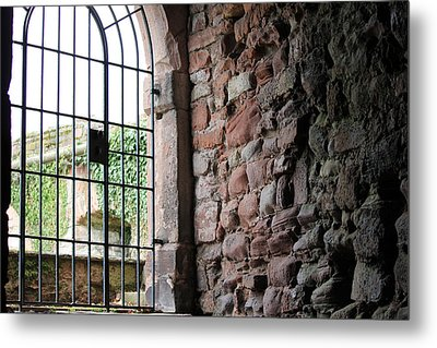 The Gate Metal Print by Laura Watts
