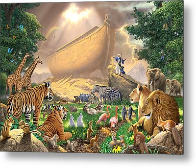 The Gathering Metal Print by Chris Heitt