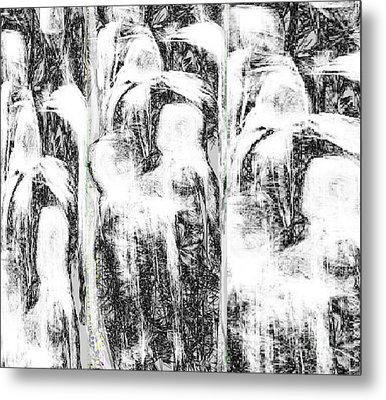 The Gathering Metal Print by Ruth Clotworthy