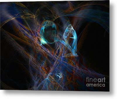 The Ghost Of Ancient Times Metal Print by Lance Sheridan-Peel